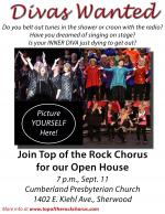 Divas Wanted! Top of the Rock Open House